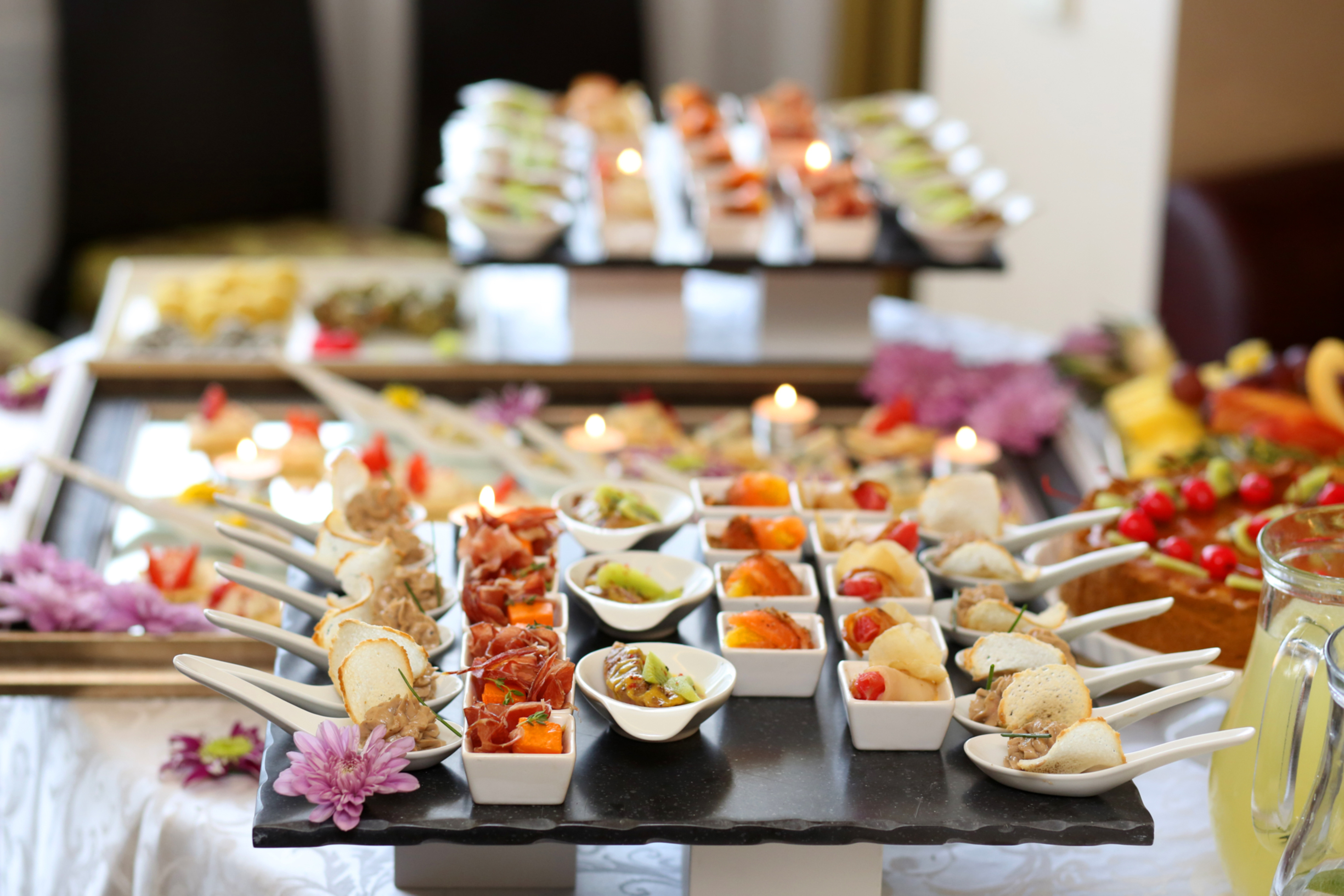 catering menus le catering co